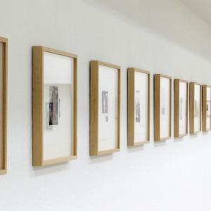 Installation view / detail. Museo della Permanente, Milano, 2016 / Photo by Nanni Fontana