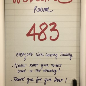 483 / Lettering